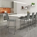 Linea Modern Counter Stool by Amisco