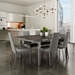 Linea Dining Chairs + Zoom Dining Table
