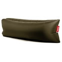 Lamzac Olive Green Modern Lounger by Fatboy