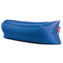 Outdoor Lounge Chairs - Lamzac Petrol Blue Modern Lounger by Fatboy