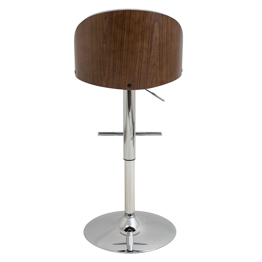 Modern Stools Laney Gray Adjustable Stool Eurway