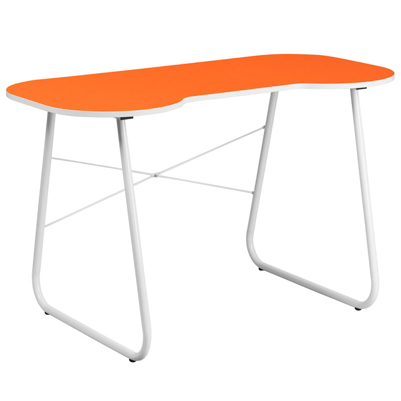 Orange Lanzia Modern Desk