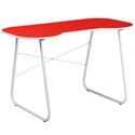 Red Modern Lanzia Desk