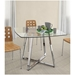 Larsen Modern Glass Dining Table
