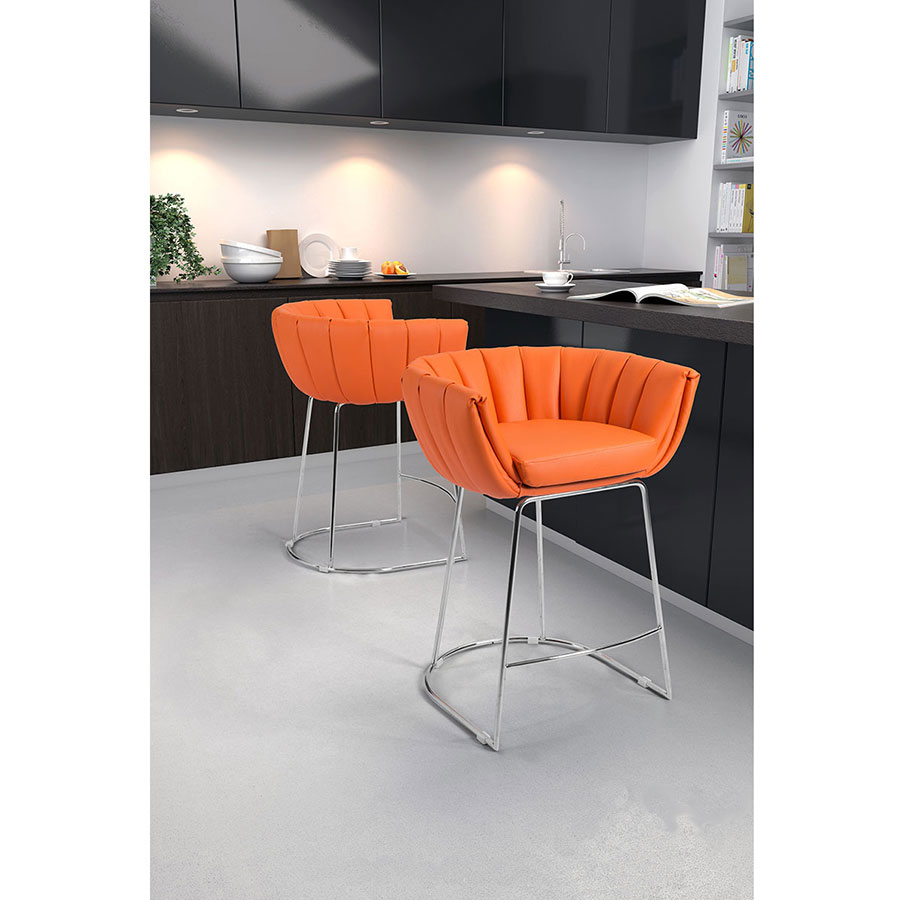 Modern Counter Stools Leandra Orange Stool Eurway : leandra counter stool orange lifestyle from www.eurway.com size 900 x 900 jpeg 86kB