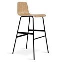 Lecture Modern Natural Ash Bar Stool by Gus Modern