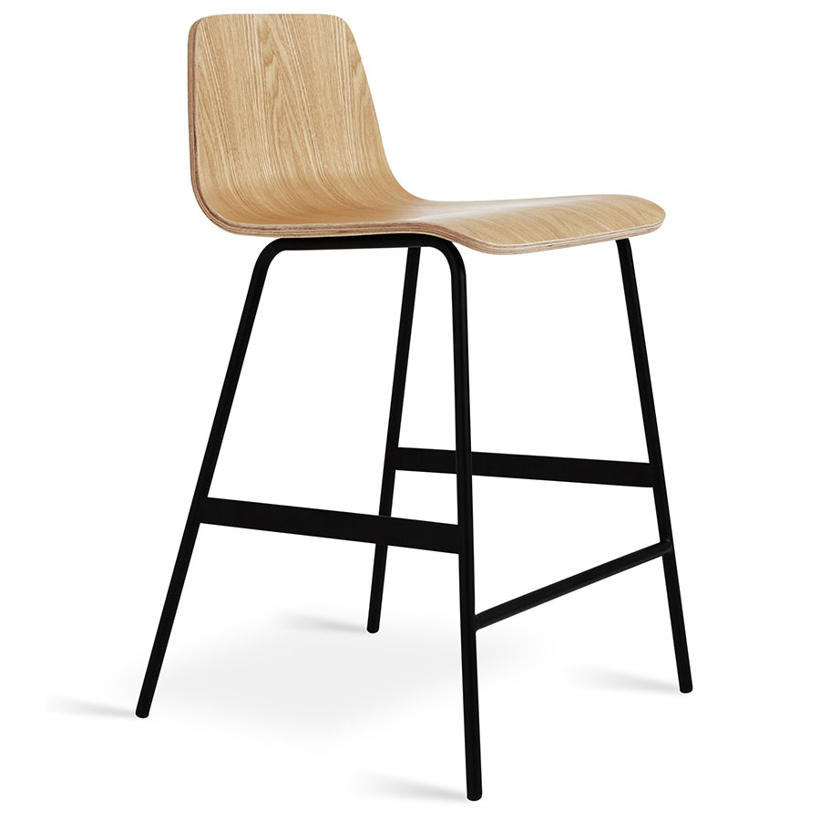 Gus Modern Lecture Counter Stool In Natural Ash Eurway