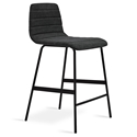 Lecture Modern Vintage Mineral Upholstered Counter Stool by Gus Modern