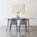 Lecture Dining Chair in Vintage Alloy by Gus Modern