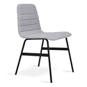 Lecture Vintage Alloy Dining Chair by Gus Modern
