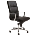 Leif Black Modern High Back Office Chair