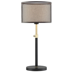 Lena Modern Mesh Shade Table Lamp