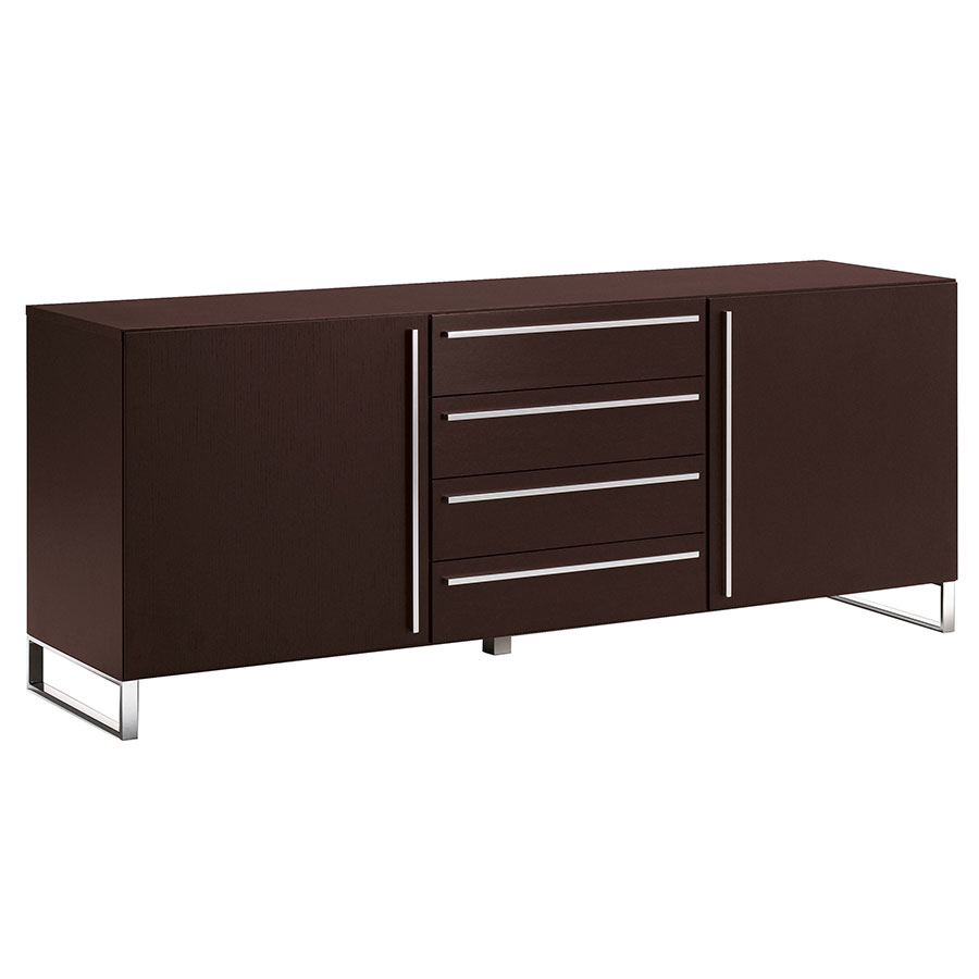 modern buffets leopold wenge sideboard eurway. Black Bedroom Furniture Sets. Home Design Ideas