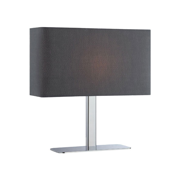 Table Lamps - Lepon Black Modern Table Lamp