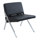 Leticia Black Modern Chair
