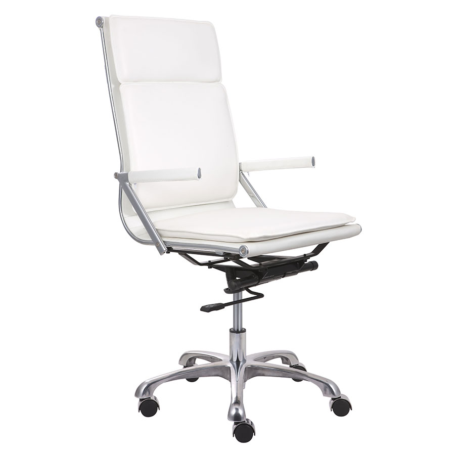 Lider Plus White High Back Modern Office Chair