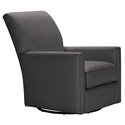 Lidia Contemporary Swivel Glider Chair