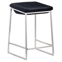 Lids Modern Dark Gray Counter Stool by Zuo