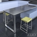 Zuo Lids Modern Green Counter Stools
