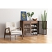 Linea Contemporary Storage Cabinet by Zuo