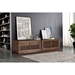 Linea Wide Walnut TV Stand by Zuo