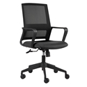 Livia Modern Black Office Chair by Euro Style