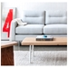 Gus Modern Logan Bi-Sectional in Oxford Quartz - Detail