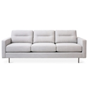 Logan Contemporary Sofa in Oxford Quartzby Gus* Modern