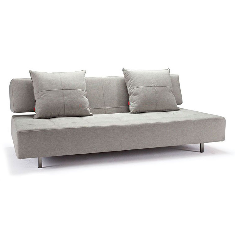 Beau Long Horn Modern Sleeper Sofa In Mixed Dance Natural