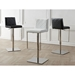 Looper Leatherette Adjustable Height Modern Bar Stools