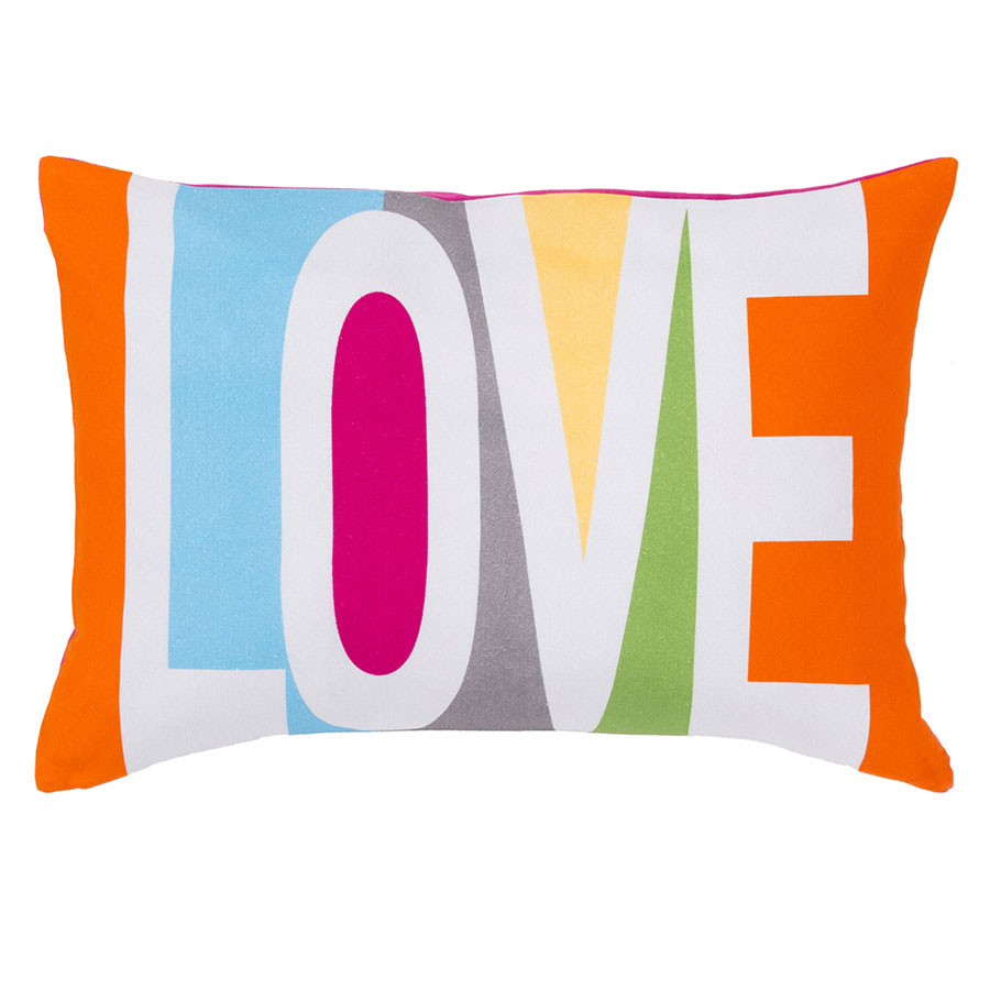 Love Modern Accent Pillow