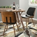 Lowery Modern Black Dining Side Chair