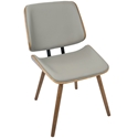 Lowery Modern Dining Chair in Gray