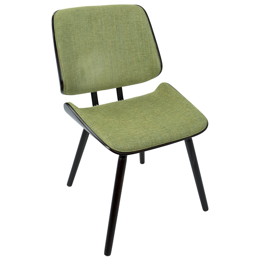 Lowery Modern Dining Chair in Green