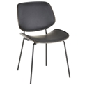 Lowery Modern Side Chair in Black