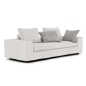 Lucerne Modern Sofa in Ashen Fabric by Modloft