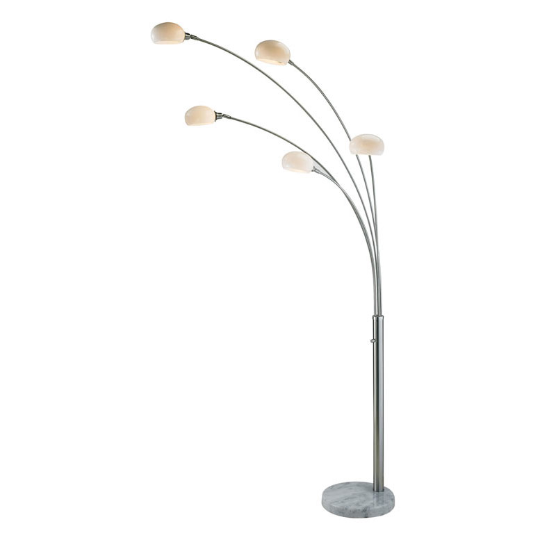 Loomis Modern Metal Arc Lamp