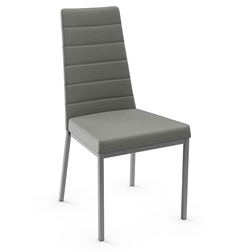 Luna Modern Dining Chair by Amisco in Magnetite
