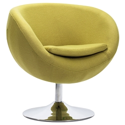 Modern Chairs - Lund Modern Lounge Chair in Green