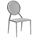 Luton White Modern Dining Chair