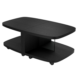 BDi Müv Modern Motion Tables in Ebonized Ash