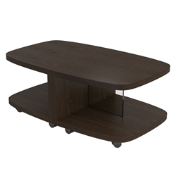 BDi Müv Modern Motion Tables in Toasted Walnut