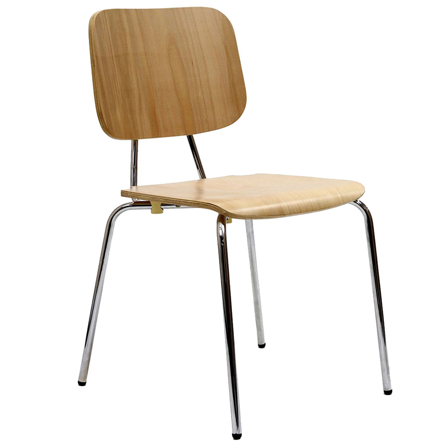 Mack Natural Modern Dining Chair