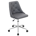 Mackenzie Gray Modern Office Chair