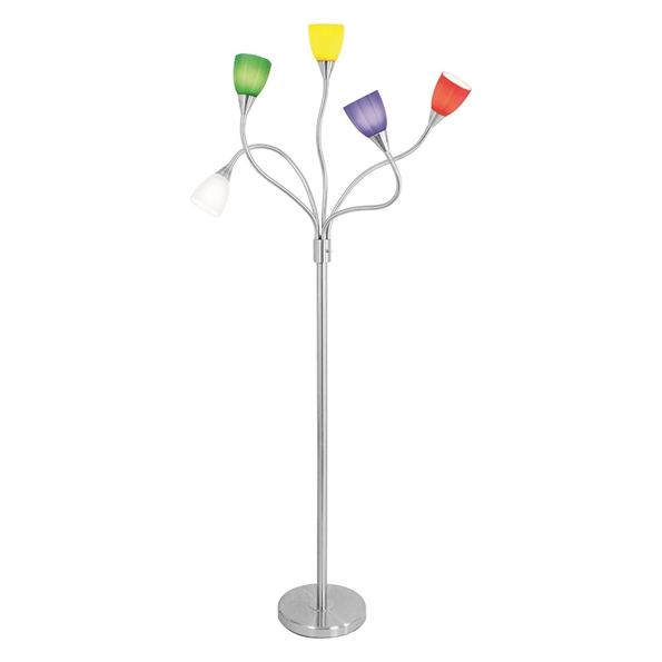 Maddox Modern Multi-Colored Floor Lamp