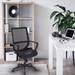 Madison Contemporary Black Mesh Desk Chair