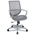 Madison Modern Gray Mesh Office Chair