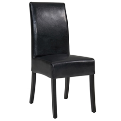 Contemporary Dining Chairs - Magic Dining Chair in Black