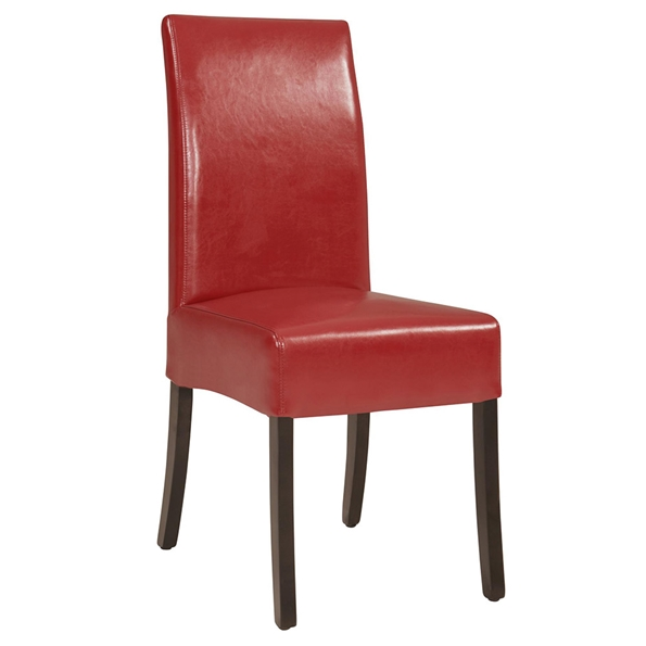 Contemporary Dining Chairs - Magic Dining Chair in Red