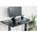 Malibu 48 In Modern Black Oak Electronic Up/Down Desk